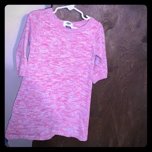 3T Old Navy Girls Pink Sweater Dress